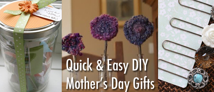 Fun Homemade Gifts for Mother's Day – Quick and Easy for Last Minute Ideas!