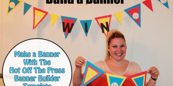 Baseball Themed Party – Build a Banner