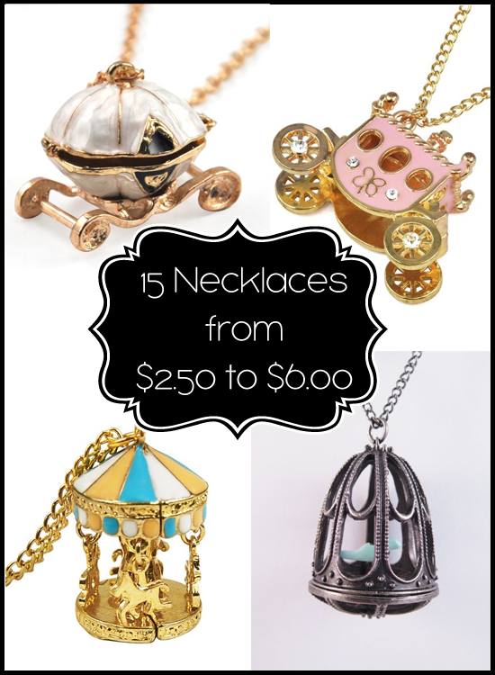 5 Necklaces from $2.50 to $6.00 Shipped For Christmas