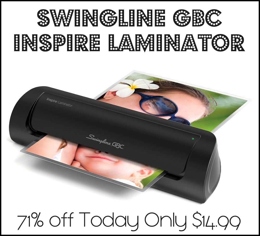 Swingline GBC Inspire Laminator 71% off Today!