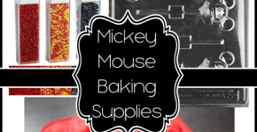 Mickey Mouse Cake Decorating, Candy Making and Baking Tools for CHEAP