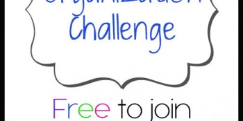 Organization Challenge – FREE printables & More!