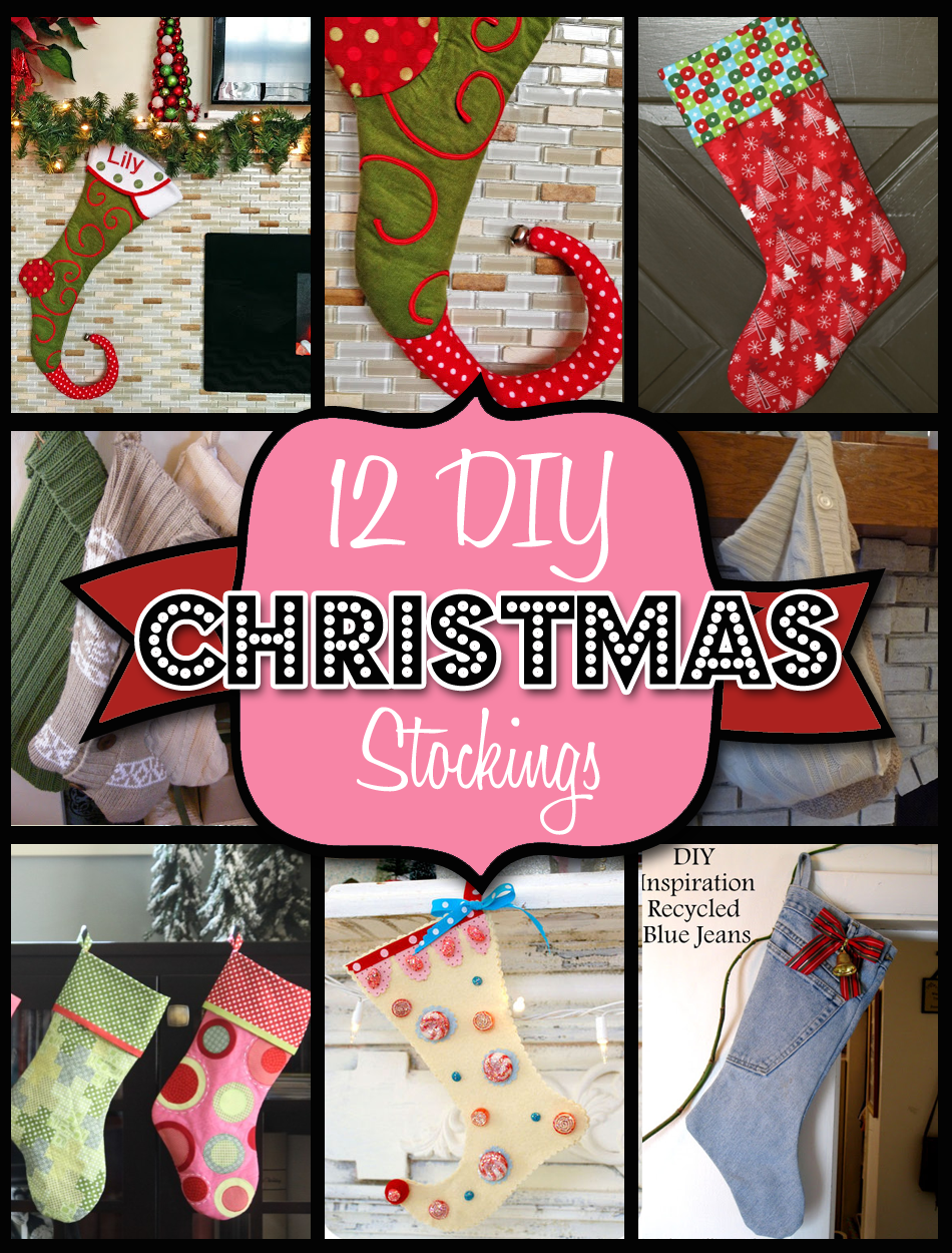 12 Christmas Stocking Patterns and Ideas