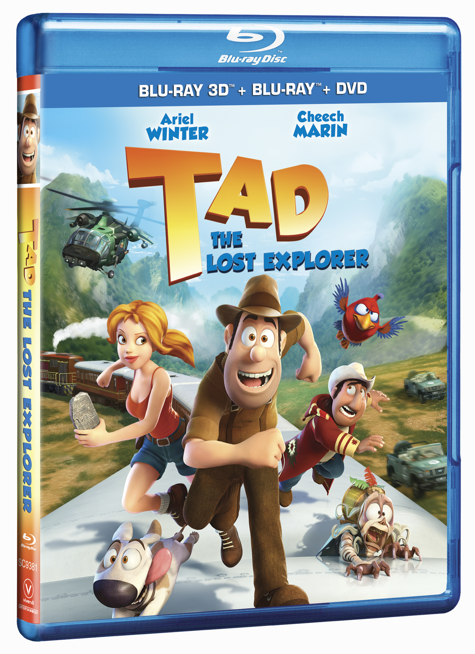 Tad: The Last Explorer Review and Giveaway