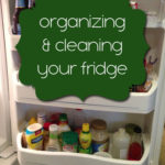 Let's Tackle that Fridge {Organization Challenge Day 14}