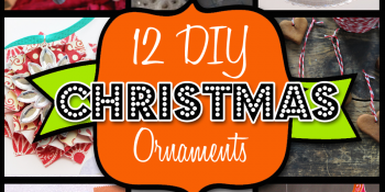 12 DIY and Crafty Christmas Ornaments