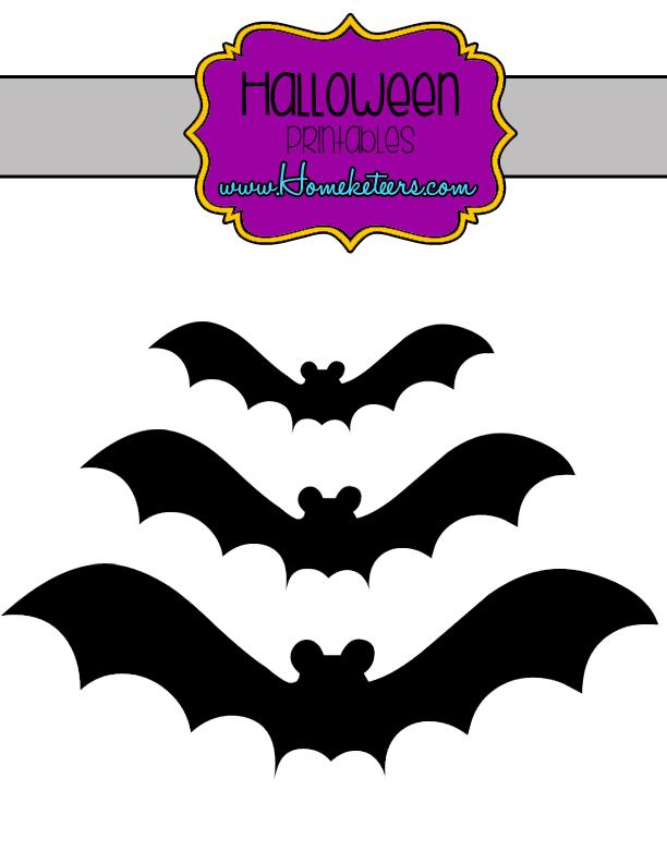 Halloween Bats – Printable {FREE}