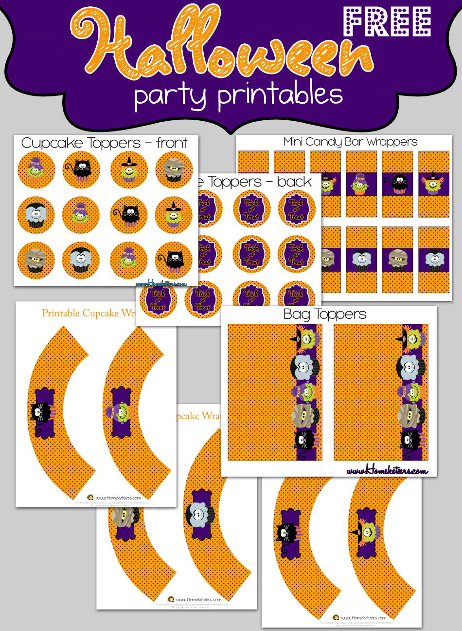 Free Halloween Party Printables