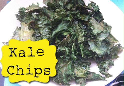 Recipe: Kale Chips