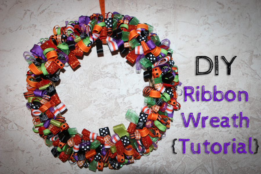 Holiday Ribbon Wreath Tutorial