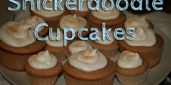 Recipe: Snickerdoodle Cupcakes