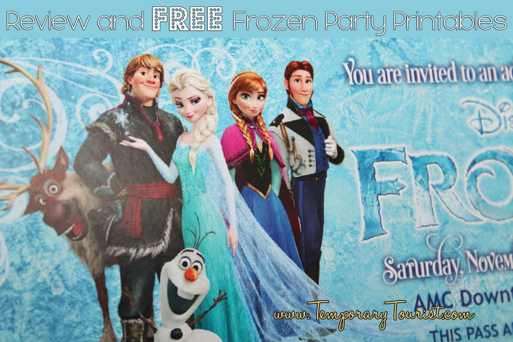 Disneys Frozen Party Printable Set FREE - Birthday invitation frozen theme