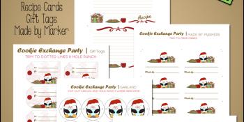 Christmas Cookie Exchange ~ Free Printables