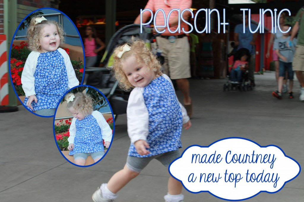 Super Easy Free Peasant Tunic / Top Pattern & Tutorial ~ Homeketeers