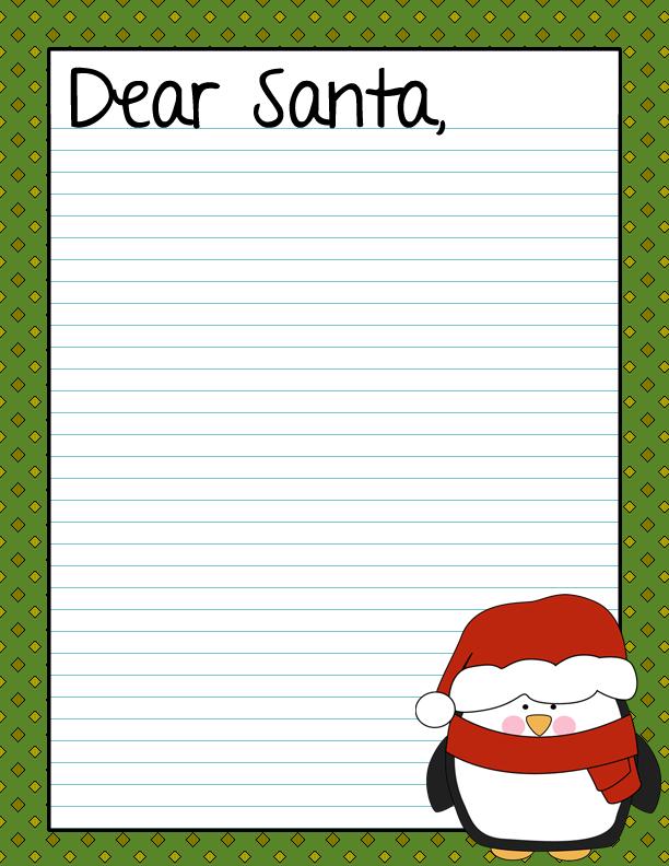 Printables / Christmas Printables / Dear Santa Letter ~ FREE Printable ...