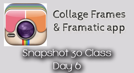 Snapshot 30 Class: Learn How to Take Better Photos {Day 6}