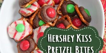 Hershey Kiss Pretzel Bites Recipe