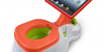 iPotty for Toliet Training the iPad addicted Toddler