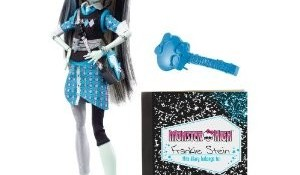 Monster High 13 Wishes Party Doll Frankie Stein ~ A Hot Christmas Present for Girls