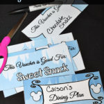 Show Your Disney Side with an At Home Dining Plan - ~FREE Printables #DisneySide