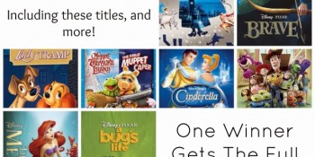 Win 19 Disney Movies – YES NINETEEN Disney Movies!