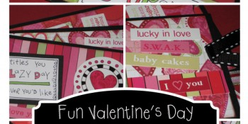 Fun Valentine's Coupons {Paper Craft Tutorial} FREE printables