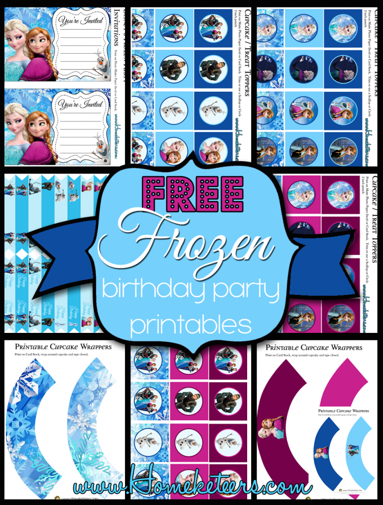 photo regarding Free Olaf Printable named Disneys Frozen Birthday Occasion Printable Mounted ~ Cost-free