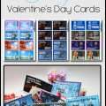 FREE Frozen Valentine's Day Card Printables
