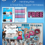 Disney's Frozen Valentine's Day Kisses Treat Bag Printables ~ FREE