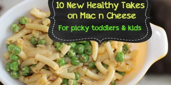 10 New {Healthy} Takes on Mac n Cheese