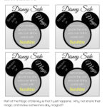 #DisneySide Random Acts of Magic Free Printable