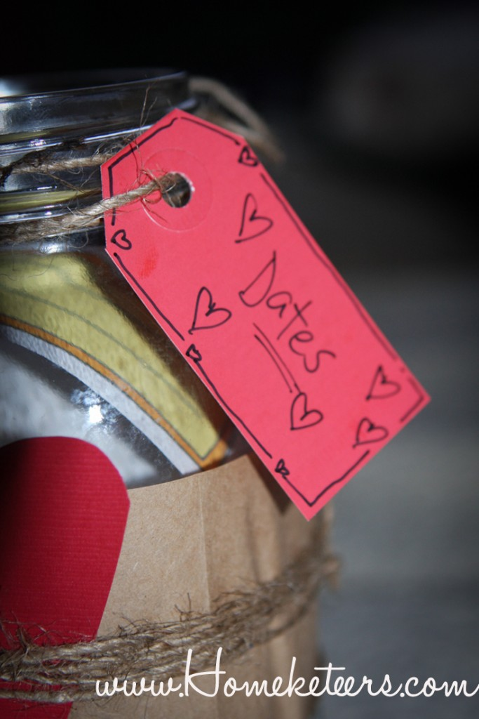 DIY Date Night Idea  Jar & Free Printables