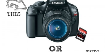 We are Giving Away a Canon Rebel DSLR T3