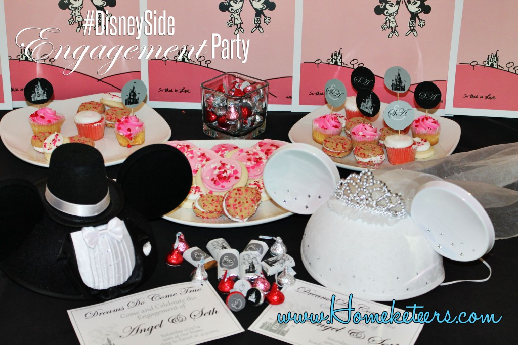 #DisneySide Engagement Party