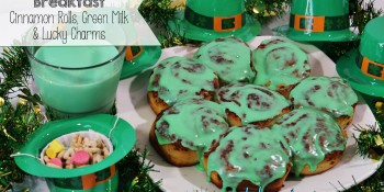 St Patrick's Day Breakfast and Snacks