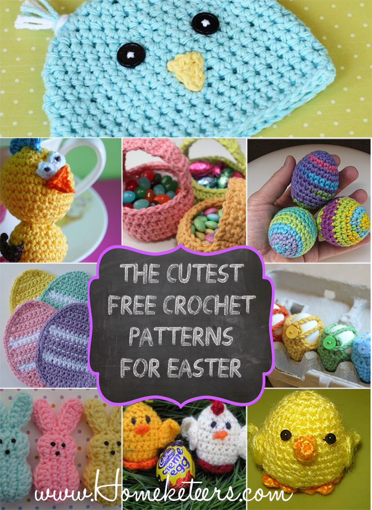 cute Easter Crochet patterns for free