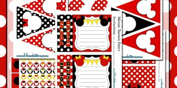 Minnie Mouse Party Printables ~ RoundUp Time {Free Too!}