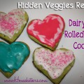 Hidden Veggies Recipe: Rolled Sugar Cookies {Dairy Free} Delicious