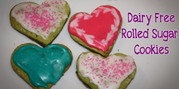 Hidden Veggies Recipe: Rolled Sugar Cookies {Dairy Free} Delicious