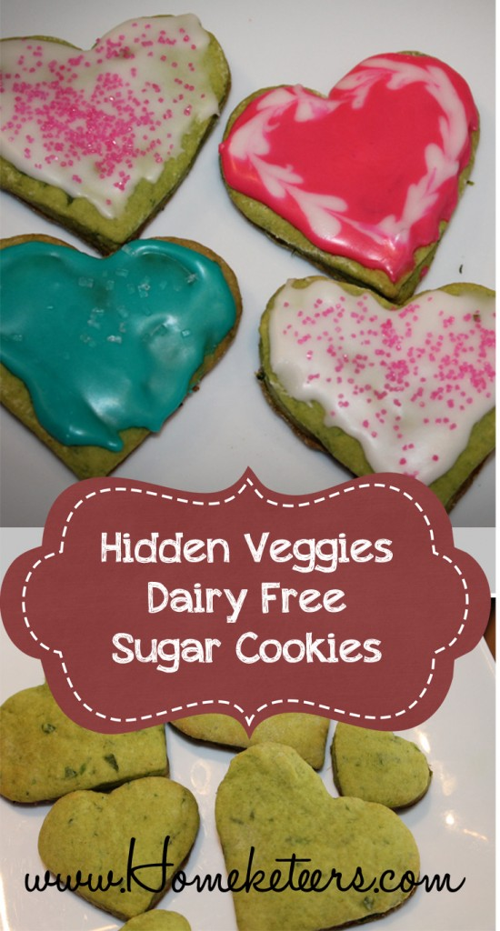 hidden veggies recipe rolled sugar cookies