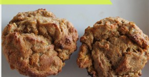 Hidden Veggies Recipe: Banana Oatmeal & Sweet Potato Muffins