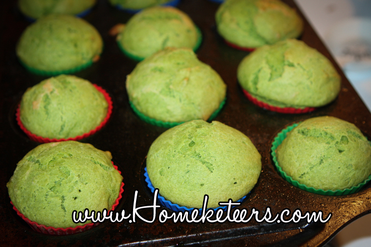 Delicious Dairy Free Green Vanilla Cupcakes {Hidden Veggies} St. Patrick's Day