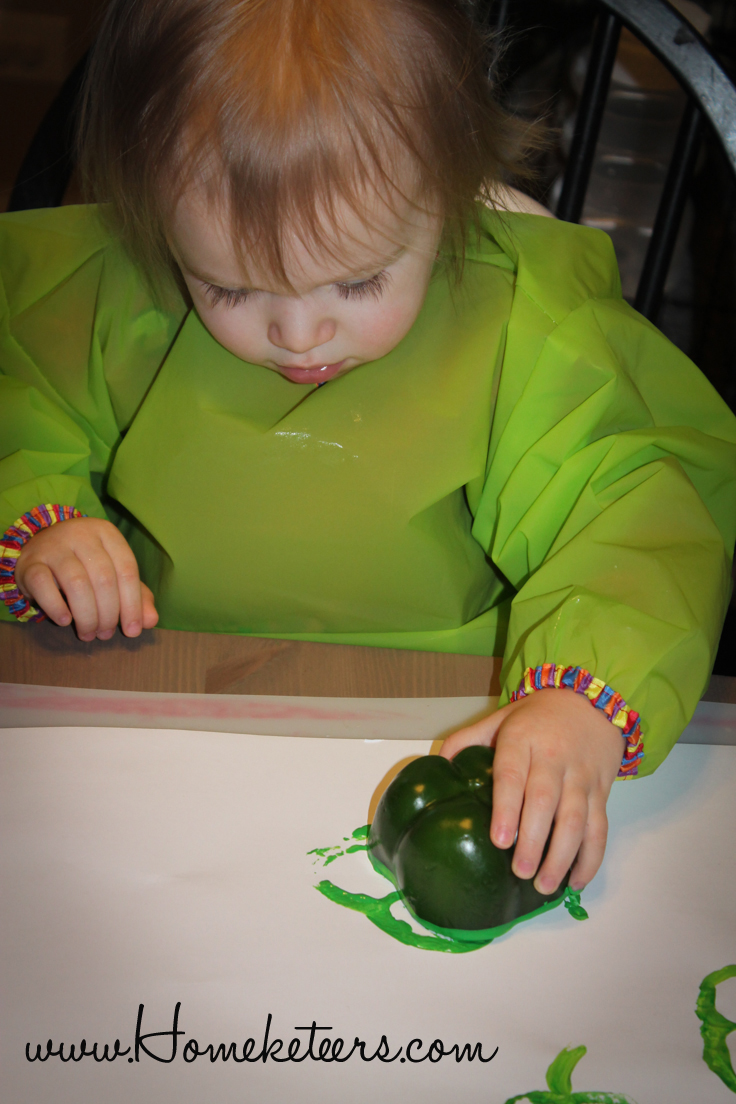 DIY St. Patrick's Day Fun Toddler Painting Activities  Pepper Stamp