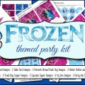 Frozen Party Printables with Four Invitation Designs and So much more!