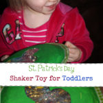 DIY St. Patrick's Day Toddler Shaker Toy Kids Craft