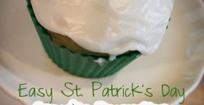 Easy St Patrick's Day Cupcake Decorating & Free Printables