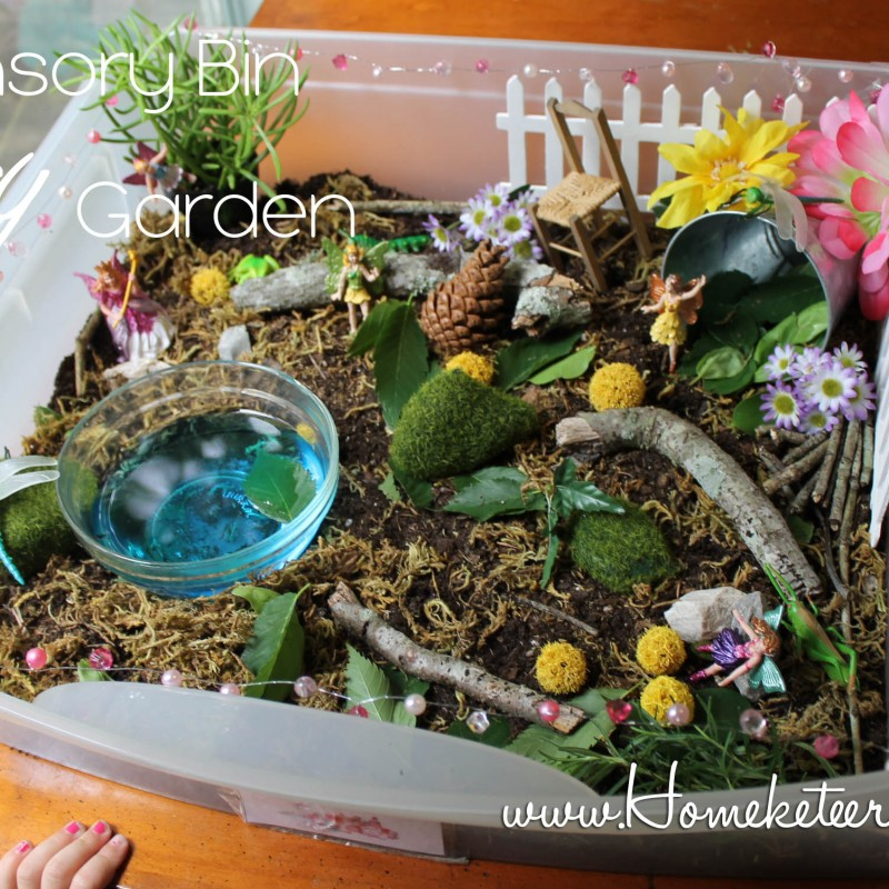 Make a Fairy Sensory Bin