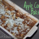 apple coconut bake recipe