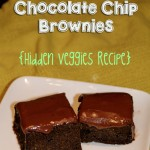 peanut butter chocolate chip brownies hidden veggies recipe