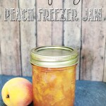 Easy DIY Peach Freezer Jam